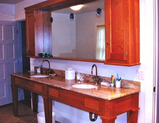 Cherry Bathroom Vanity