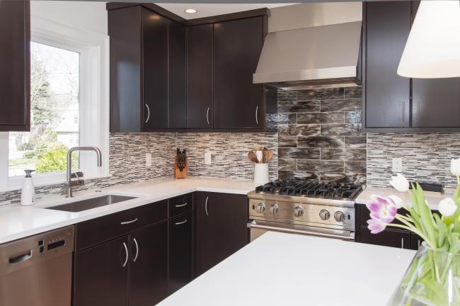 Modern Kitchen in Newton MA