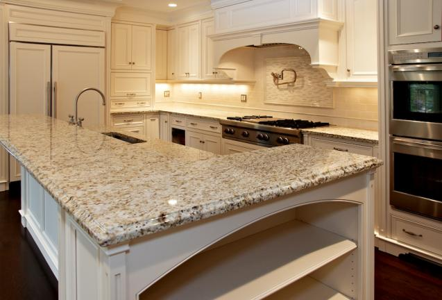 Painted Traditional Kitchen Cabinet