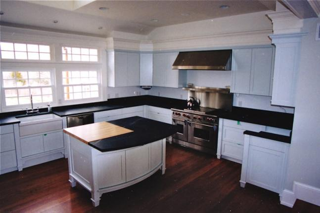 Beach House Painted Kitchen