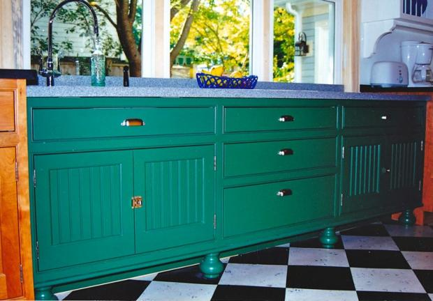 Farm Style Kitchen Cabinet
