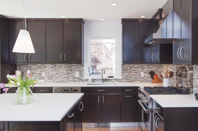 Contemporary Kitchen in Newton MA