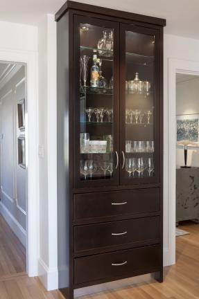 Kitchen Display Cabinet